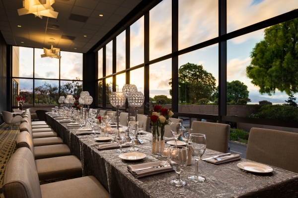Private Dining Rooms San Francisco Extraordinary Waterfront Windows Private Dining Burlingamehilton San Francisco . Review